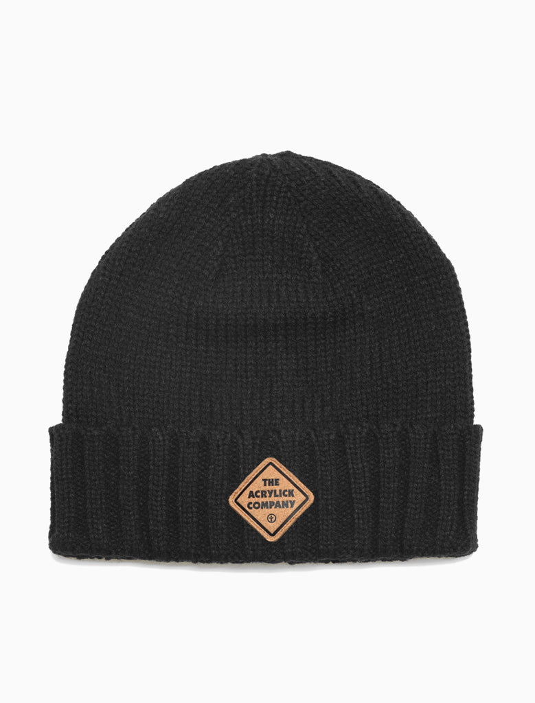 Knit cuff beanie featuring our Midnighters Label