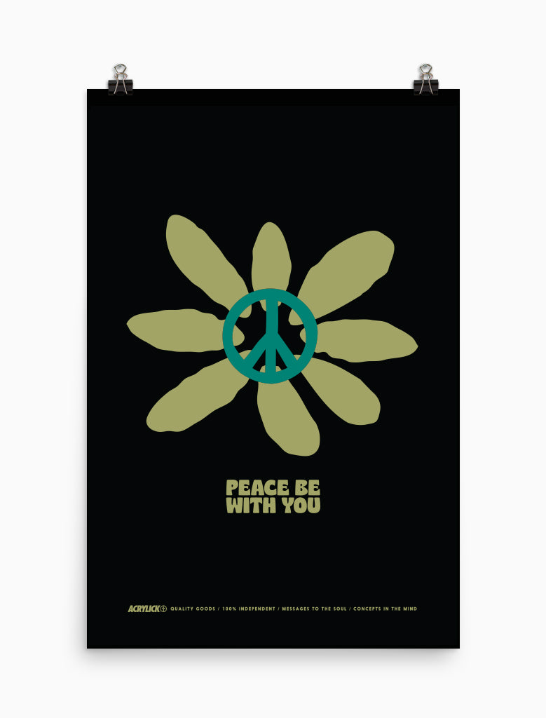 Peace Be With You Poster