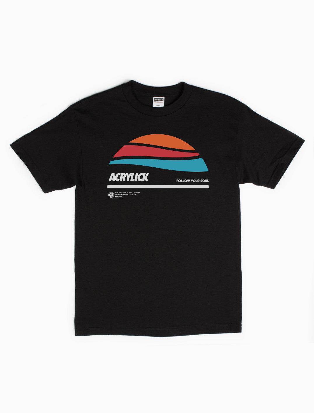 Acrylick - Horizon Tee - Sunset Tee - Sunrise Tee - Mens
