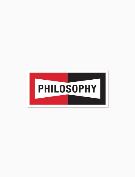 Philosophy Sticker