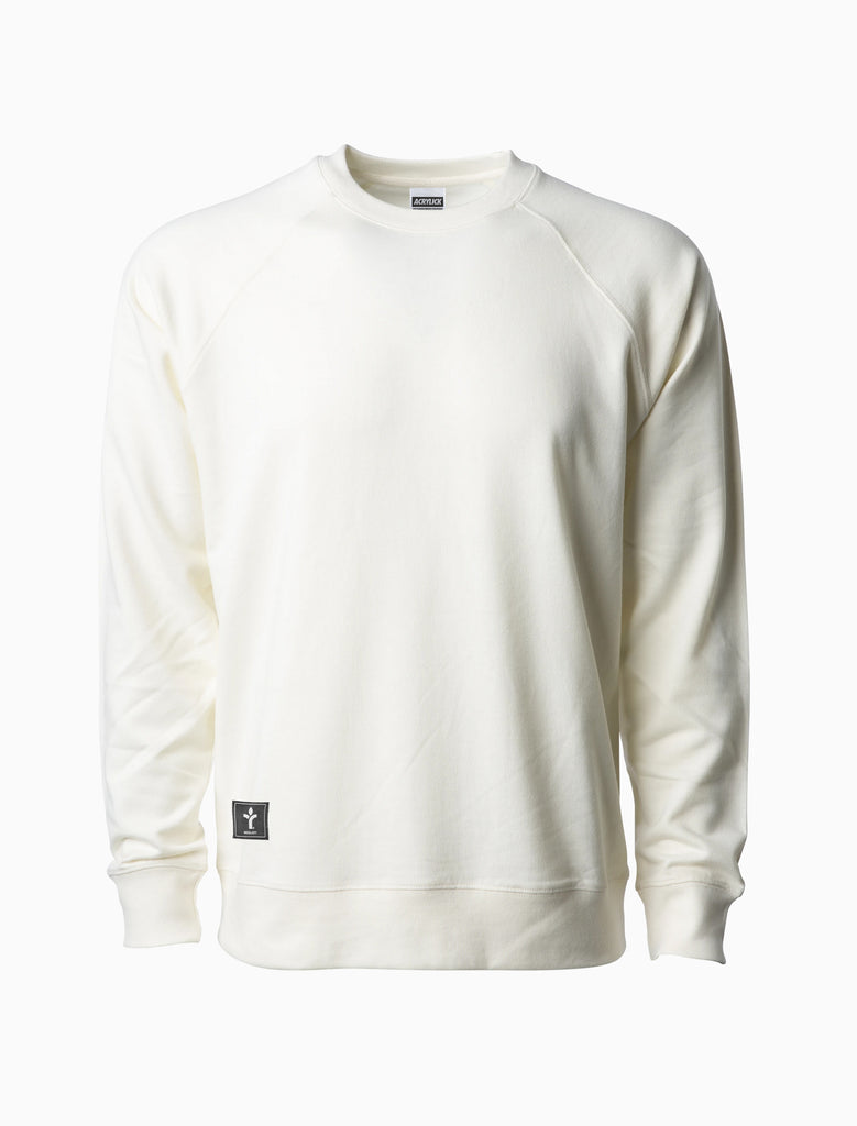 Acrylick Lightweight Loopback Terry Crew