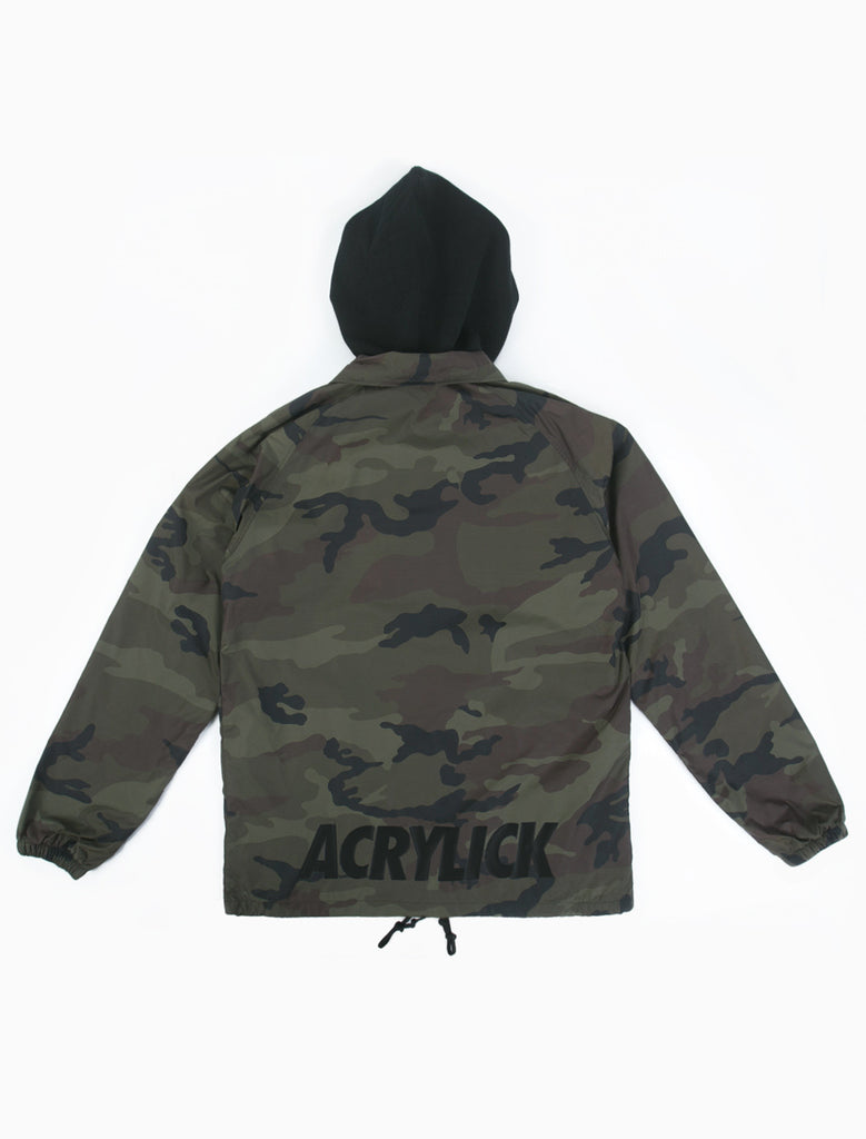 Acrylick - Hooded Coaches Jacket