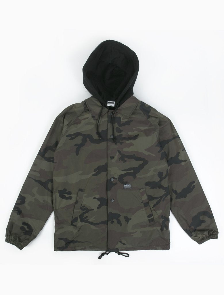 Patton II Hooded Coaches Jacket