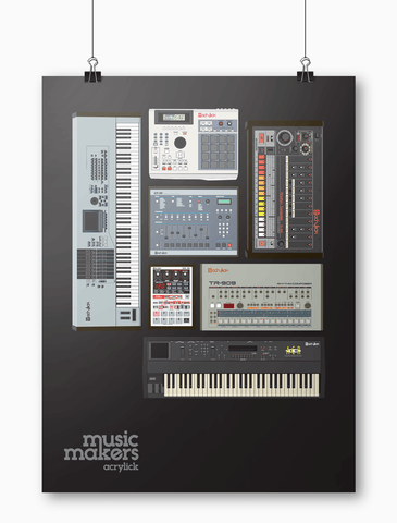 Acrylick Poster - Music Makers