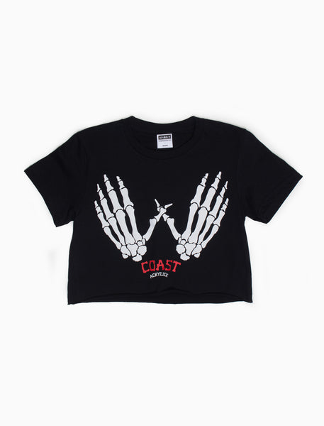 Acrylick - West Coast Crop Tee