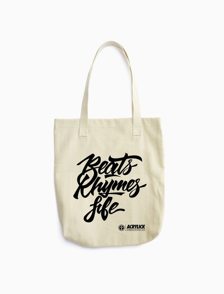 Beats Rhymes Life Tote Bag