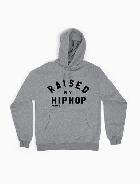 Raised by Hiphop, Mens, Hoodie, Sweater, Acrylick