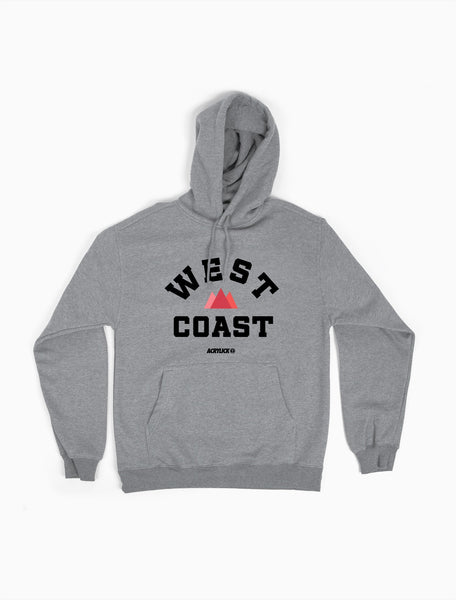 West Coast, Pacific Coast, Mens, Hoodie, Sweater, Acrylick