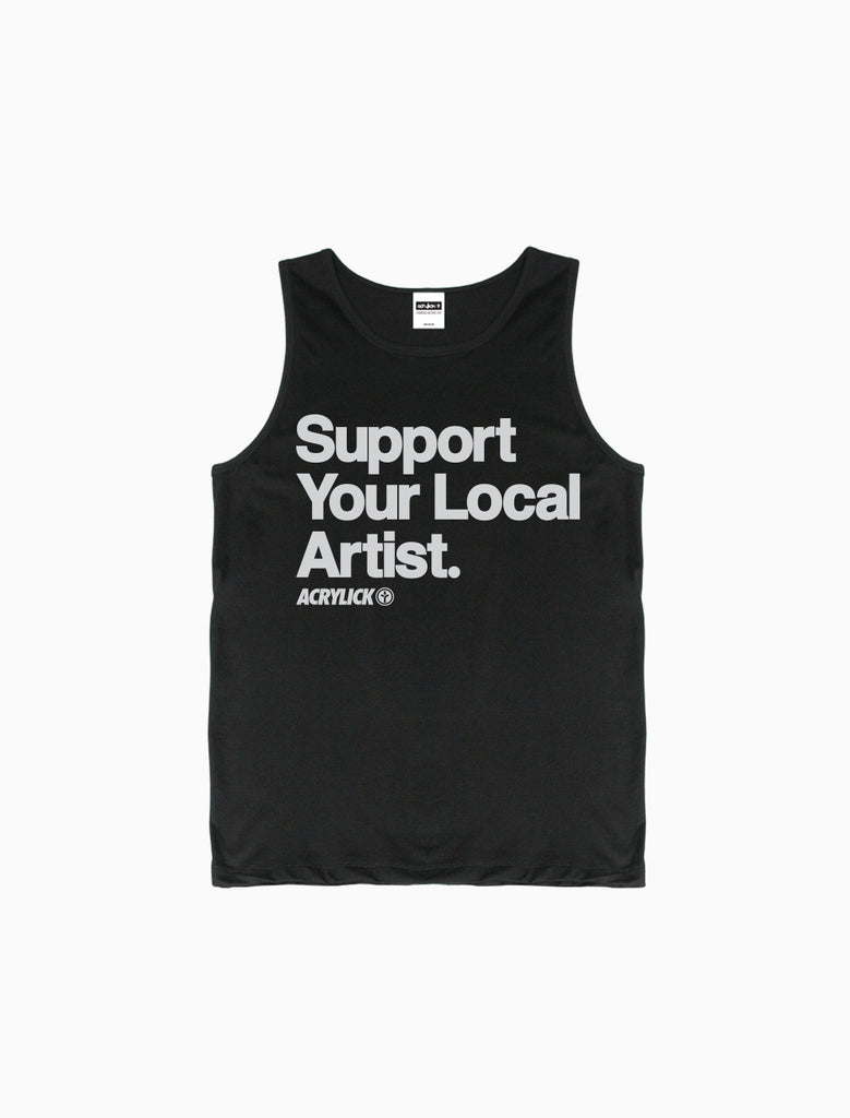 Acrylick - Support Your Local Artist - Tank Top (7726452489)