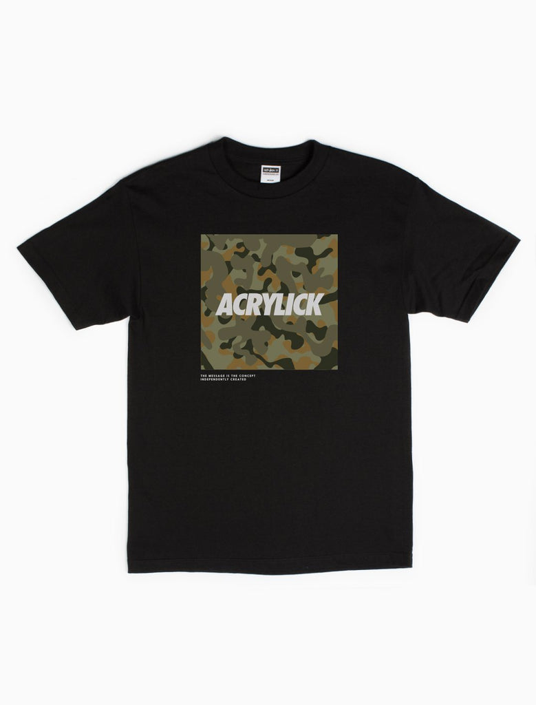 Quest, Camo, Box Logo, Mens, Tshirt, Tee, Music, Acrylick (255988858908)