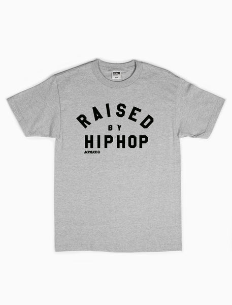 Raised by Hiphop, Mens, Tshirt, Tee, Acrylick