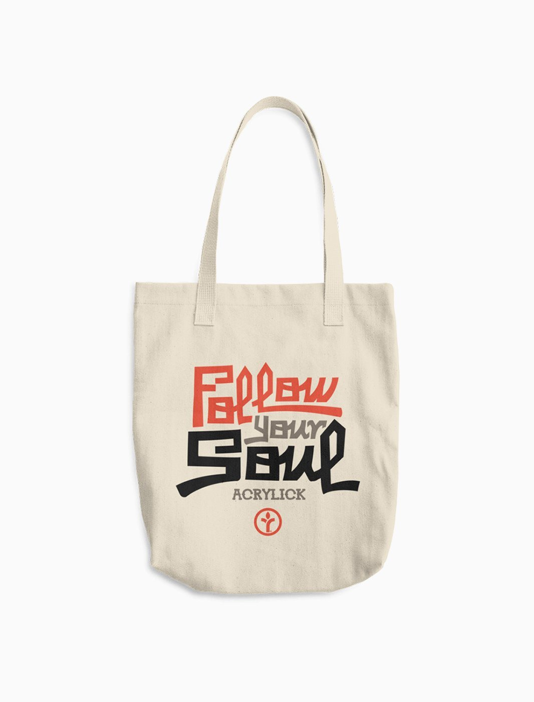 Tote Bag - Canvas - Follow Your Soul - Acrylick - Music