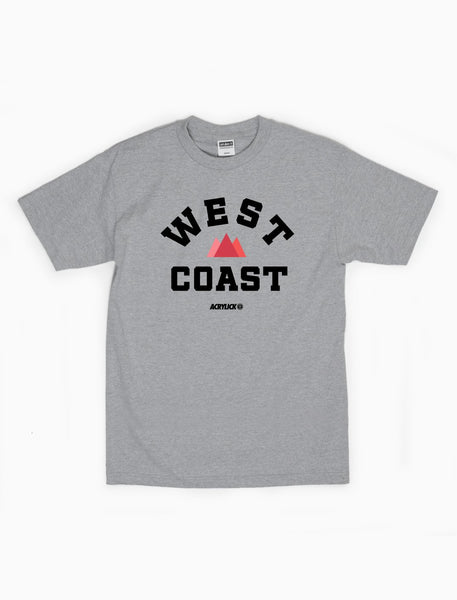 West Coast, Pacific Coast, Mens, Tshirt, Tee