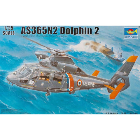 TRUMPETER 1/35 AS365N2 Dolphin 2 Helicopter