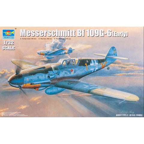 Trumpeter 02296 1/32 Messerschmitt Bf 109G-6(Early)