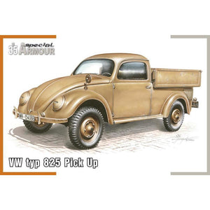"SPECIAL HOBBY 1/35 VW type 825 ""Pick Up"" 1/35"