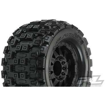 "Image of PROLINE Badlands MX38 3.8"" Mounted Tyres"