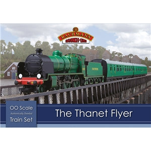 BACHMANN BRANCHLINE HO - The Thanet Flyer Train Set