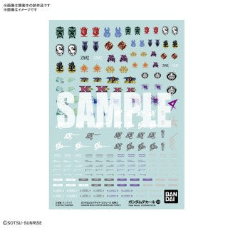 BANDAI Gundam Decal 124 Gundam Build Divers Series Multiuse 1