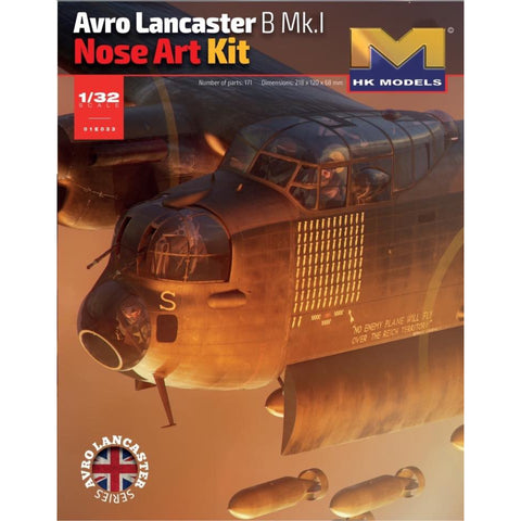 HONG KONG MODELS 1/32 Avro Lancaster B Mk.I Nose Art Kit