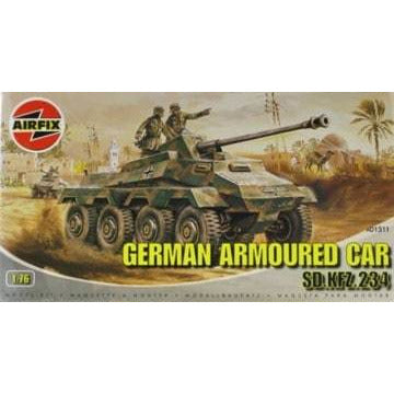 AIRFIX 1/76 Sd.Kfz.234 German Armoured Car