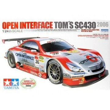 TAMIYA 1/24 Open Interface Tom's SC430 2006