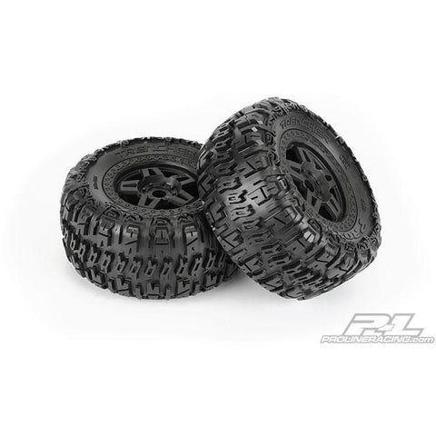 "PROLINE Trencher 3.8"" (40 Series) All Terrain Tires (2) Mou"