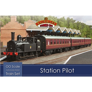 BACHMANN BRANCHLINE HO - Station Pilot Train Set