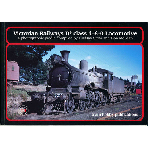 TH - Victorian Railways D3 Class 4-6-0 Locomotive
