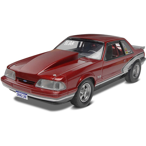 REVELL 1/25 '90 Mustang LX 5.0 Drag Racer Model Kit