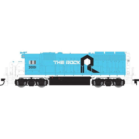 ATLAS N EMD GP40 DCC ROCK #3000