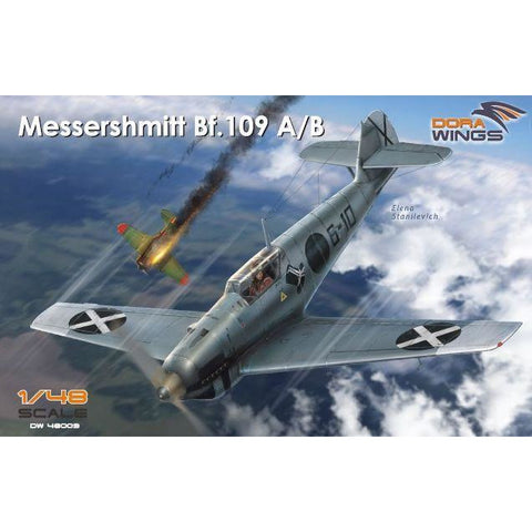 DORA WINGS 1/48 Messershmitt Bf.109 A/B  Legion Condor