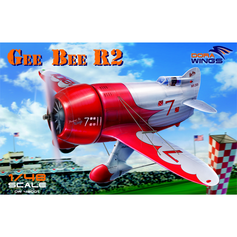 DORA WINGS 1/48 Gee Bee Super Sportster R-2