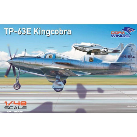 DORA WINGS 1/48 Bell TP-63E Kingcobra (Two seat)