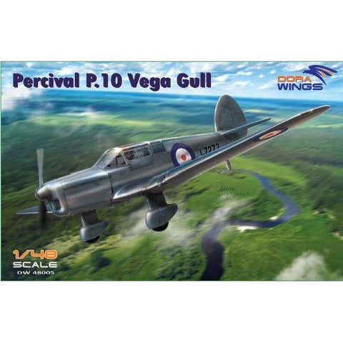 DORA WINGS 1/48 Percival P.10 Vega Gull (military service)