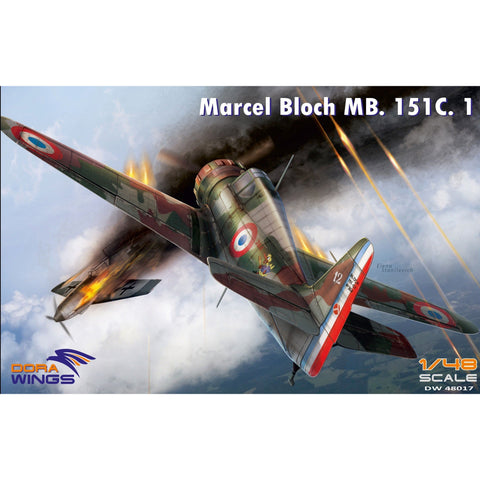 DORA WINGS 1/48 Bloch MB.151C.1