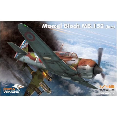 DORA WINGS 1/48 Bloch MB.152C.1(Late)