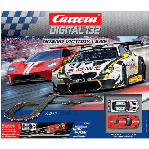 CARRERA Digital 132 Grand Victory Lane Slot Car Set