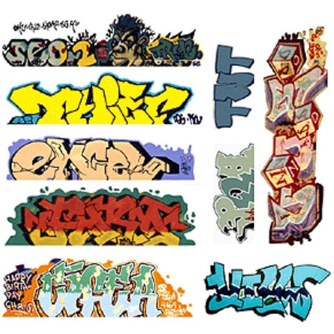 BLAIR LINE HO Graffiti Decal Mega #6 (9)
