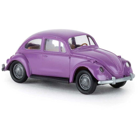 BREKINA AUTOMODELLE VW Bug Economy Purple