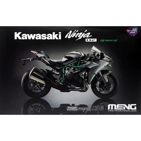MENG 1/9 Kawasaki H2 Coloured