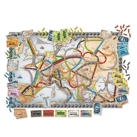 Image of Ticket to Ride Europe