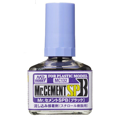 GUNZE Mr Cement SPB (Black) 40ml (GN MC132)