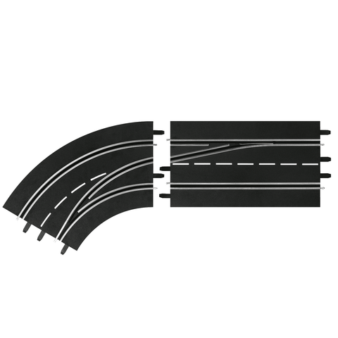 CARRERA Digital 132/124 - Lane Change Curve Left - Out to I