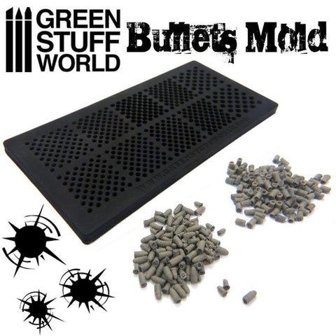 Image of GREEN STUFF WORLD Bullets Mold