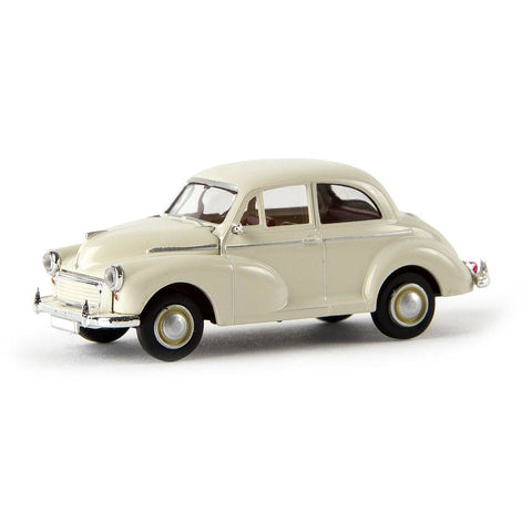 BREKINA AUTOMODELLE Morris Minor Pearl White