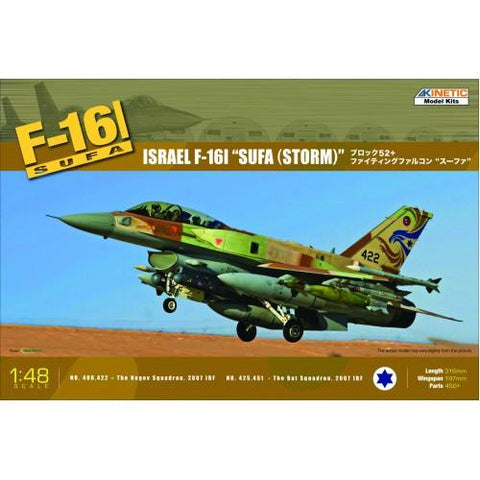 Image of KINETIC 1/48 Israel F-16I SUFA (Storm)