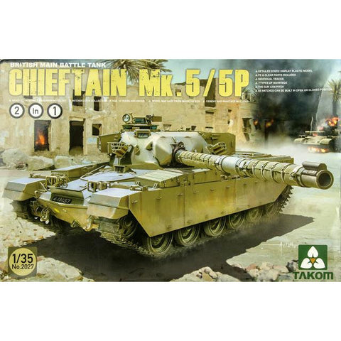 TAKOM 2027 1/35 British Main Battle Tank Chieftain Mk.5/P 2