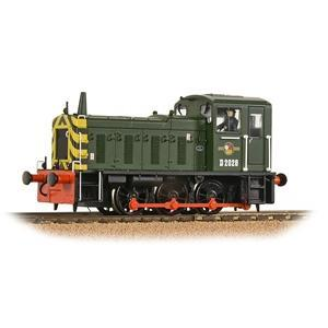 Image of BRANCHLINE OO Class 03 D2028 BR Green with Wasp Stripes