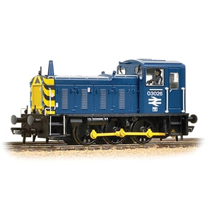 BRANCHLINE OO Class 03 03026 BR Blue (DCC Sound)